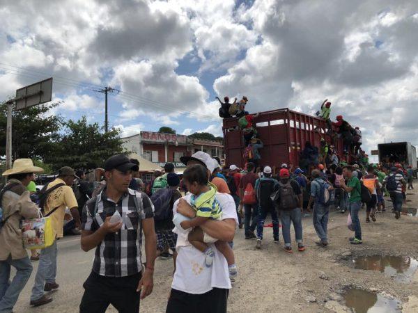 Casi 6 mil migrantes solicitan permiso para estar en México