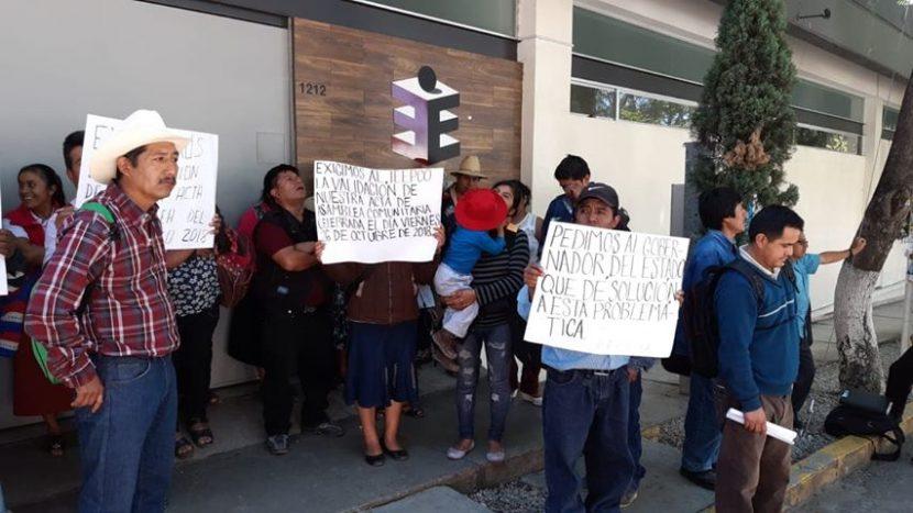 Habitantes de Mixistlán exigen validación en su elección