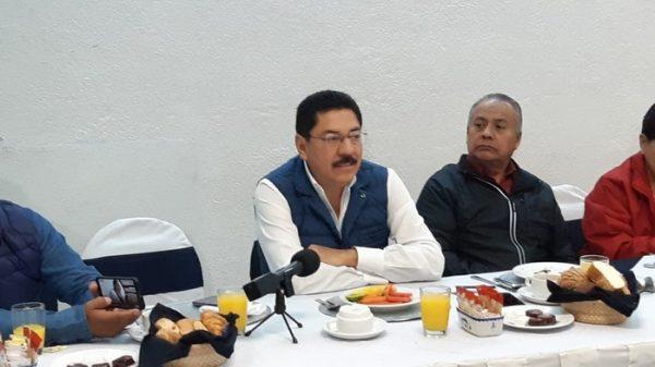 Repudian maestros de la Sección 22 visita de Ulises Ruiz