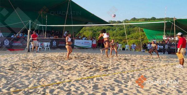 Puerto Escondido sede del Campeonato de Voleibol de Playa Juvenil 2018