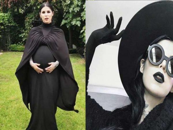 Ya nació el bebé de Kat Vond D y es más 'darks' que su mamá