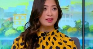 Joven con Down se convierte en conductora de TV +VIDEO