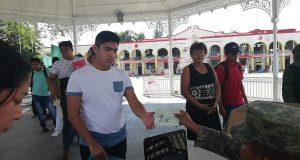 En Tuxtepec, entrega SEDENA cartillas liberadas a jóvenes de la clase 1999