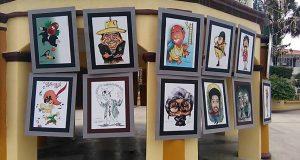 Se realiza encuentro nacional de caricaturistas en Otatitlán