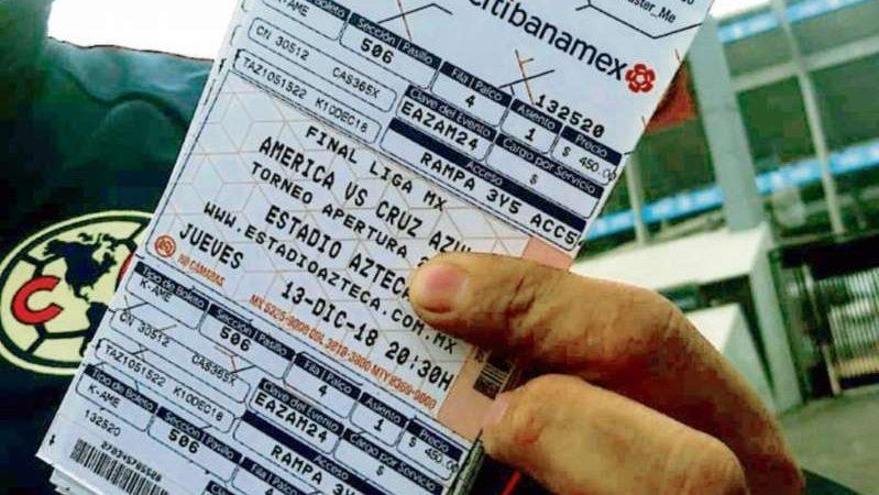 Reventa acapara los boletos del Cruz Azul -América