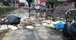 De nueva cuenta Valle Nacional  entre la basura
