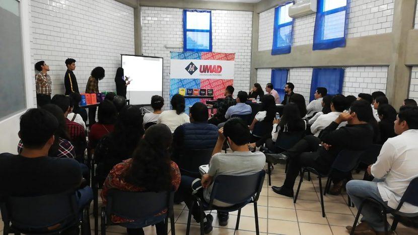 Presentan jóvenes de la UMAD ponencia clasificada sobre la minoría de México
