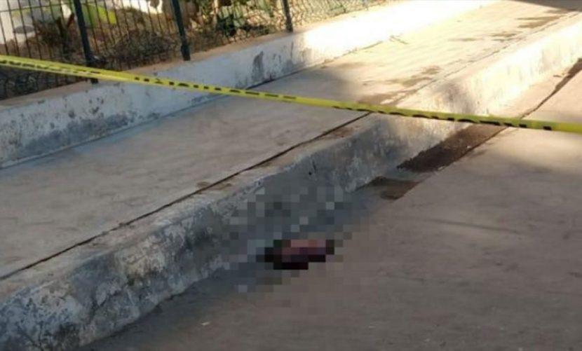 Tiran feto en calle de San Miguel del Puerto