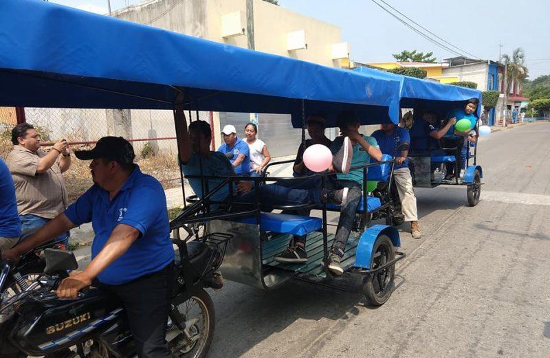 Reitera SEMOVI, no hay concesiones de mototaxis para San Bartolo