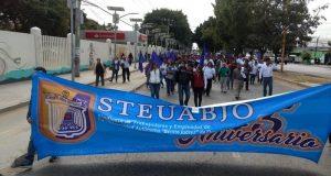 Emplaza STEUABJO a huelga para el primero de febrero