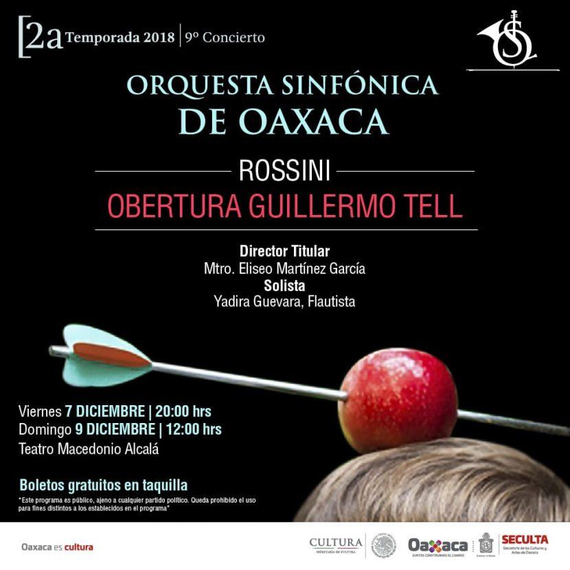 Últimos conciertos de la Sinfónica de Oaxaca