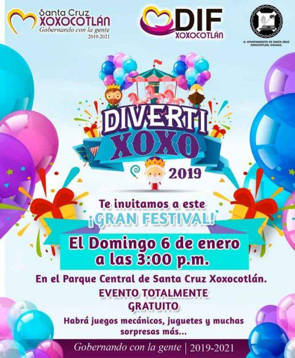 Invitan a celebrar el Día de Reyes en Xoxocotlán