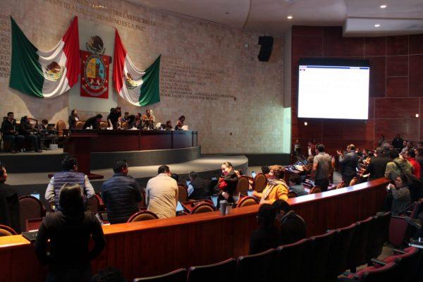 Van Legisladores de Morena por homologación de Ley de extinción de dominio en Oaxaca
