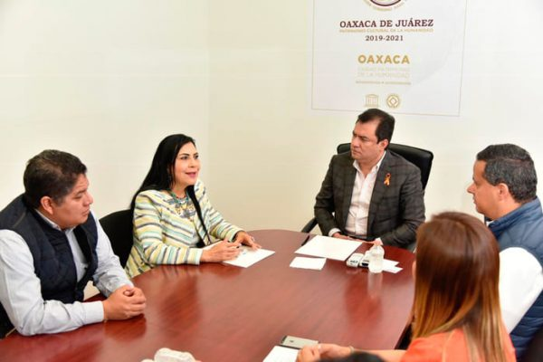 Fortalece Municipio de Oaxaca de Juárez lazos  con el Instituto Oaxaqueño de Atención al Migrante