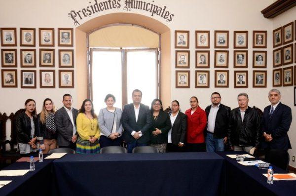 Instala Oswaldo García Jarquín Junta de Gobierno  del Instituto Municipal de la Mujer