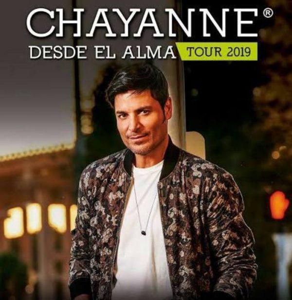 Chayanne se presentará en Oaxaca y Veracruz