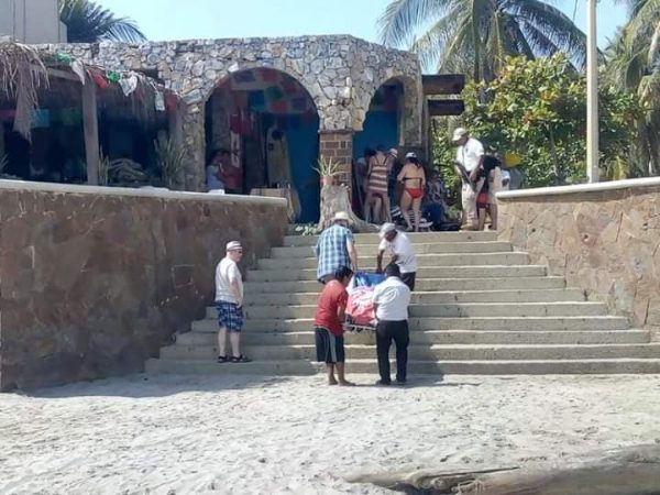 Fallece Canadiense ahogado en playa de Huatulco