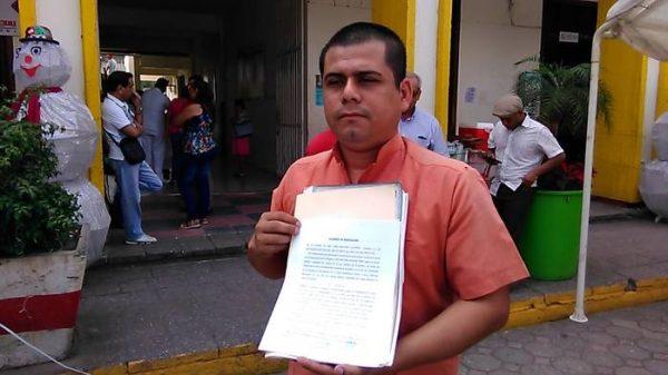 Denuncian a Nahúm Osorio de querer adueñarse de concesión