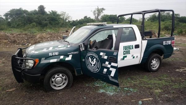 Emboscada a Fuerza Civil en Tierra Blanca deja un policía muerto