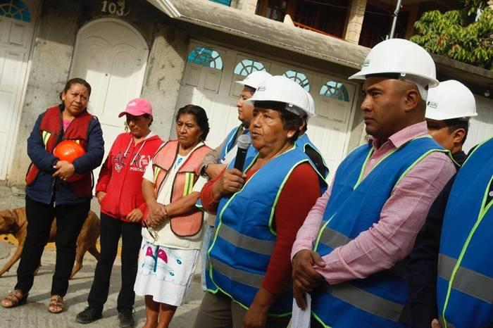 BOLETÍN 016.- Gobierno Municipal impulsa desarrollo social en Santa Lucía con obra hidráulica de la Colonia Guelatao (4)