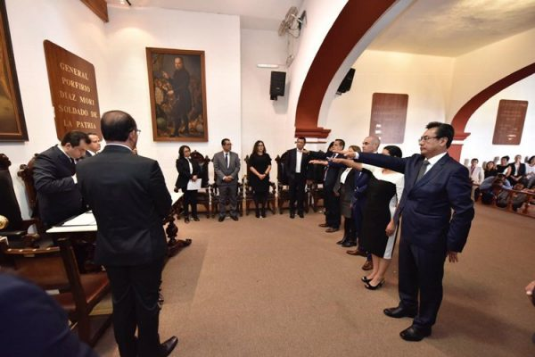 Designa Oswaldo García Jarquín a funcionarios municipales del Ayuntamiento de Oaxaca de Juárez