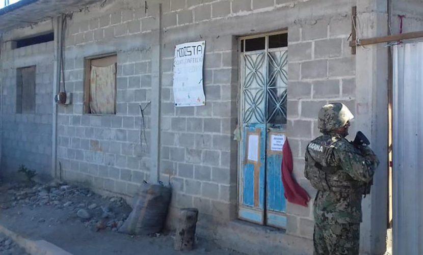 Hallan equipo para robo de combustible durante cateos en Oaxaca