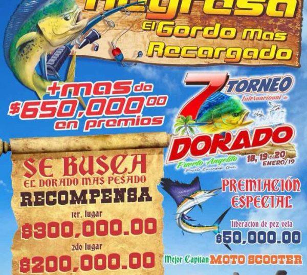 Celebrará Puerto Escondido torneo internacional de pesca