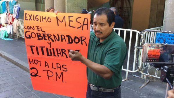 Desplazado de Santiago Progreso, Valle Nacional anuncia movilizaciones en Oaxaca