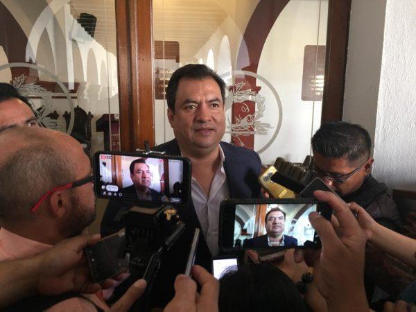 Esencia del Gobierno capitalino es la legalidad, reitera Oswaldo García a comerciantes ambulantes