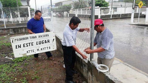 Cercan área de agua potable en Valle, buscan evitar contaminación por basura