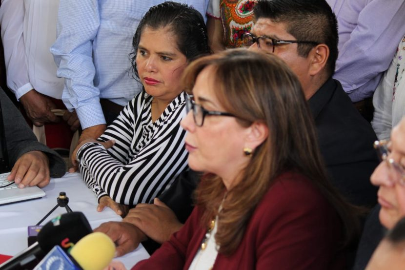 Respalda presidenta nacional de Morena militancia en Oaxaca