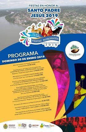 Invitan a fiestas Patronales en Chacaltianguis