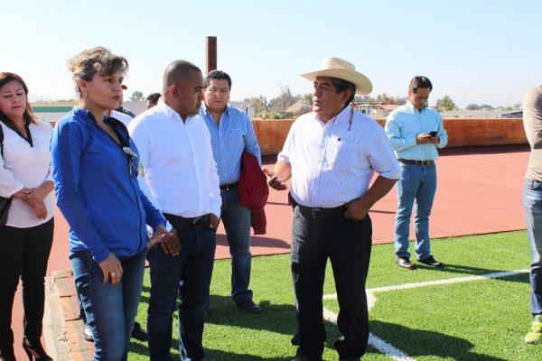 Gobierno de Oaxaca trabaja para mejorar la infraestructura  en Santa Lucía del Camino: Sinfra
