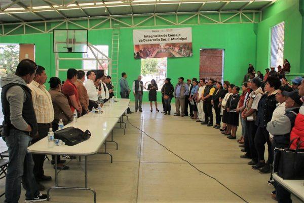 Arranca Coplade  jornada estatal para instalación  de Consejos de Desarrollo Social Municipal