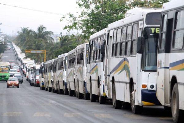 Habrá paro de camiones en todo el estado de Veracruz este domingo: Transportistas