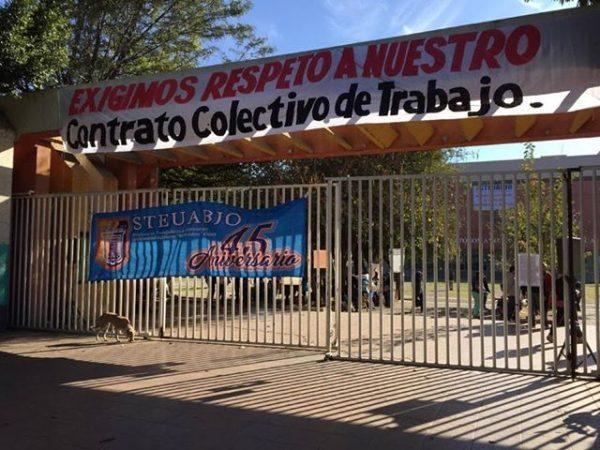 Más de 25 mil alumnos de la UABJO se quedarían sin clases, ante amenaza de huelga del STEUABJO