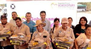 ALJ mejora condiciones laborales de personal operativo de Xoxocotlán