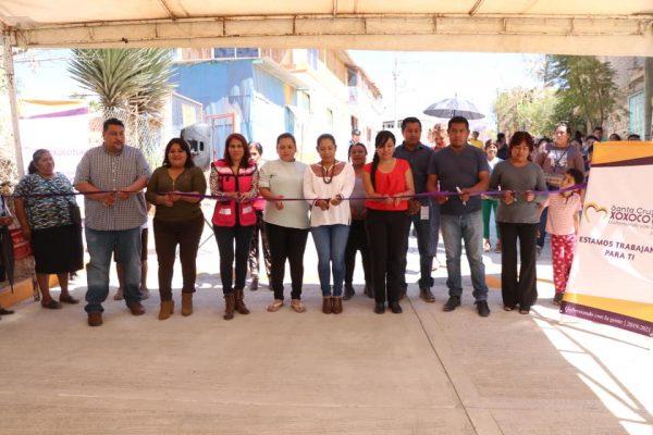 Mejoran la movilidad de familias xoxeñas a través de obra pública