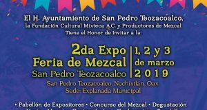 Realizará San Pedro Teozacoalco Segunda Feria del Mezcal