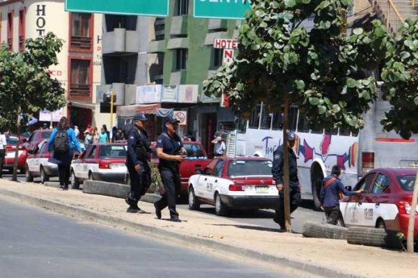 Policía capitalina despliega operativo pedestre para inhibir incidencia delictiva