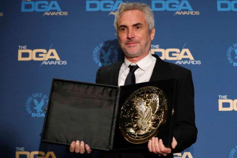 Alfonso Cuarón gana premio de los directores por Roma