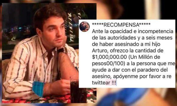 Exfuncionario veracruzano ofrece 1 mdp por asesino de su hijo