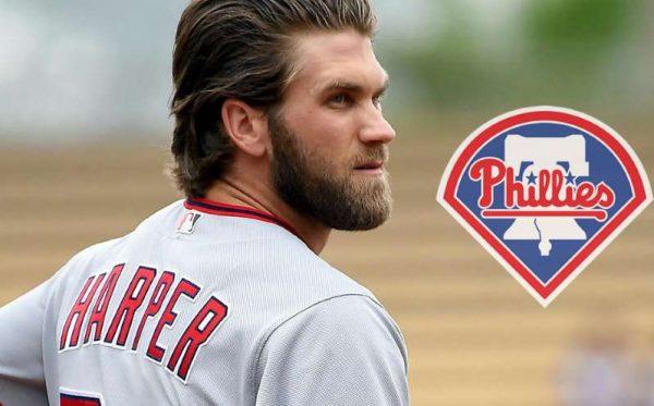 Bryce Harper logra el contrato más grande en la historia de MLB