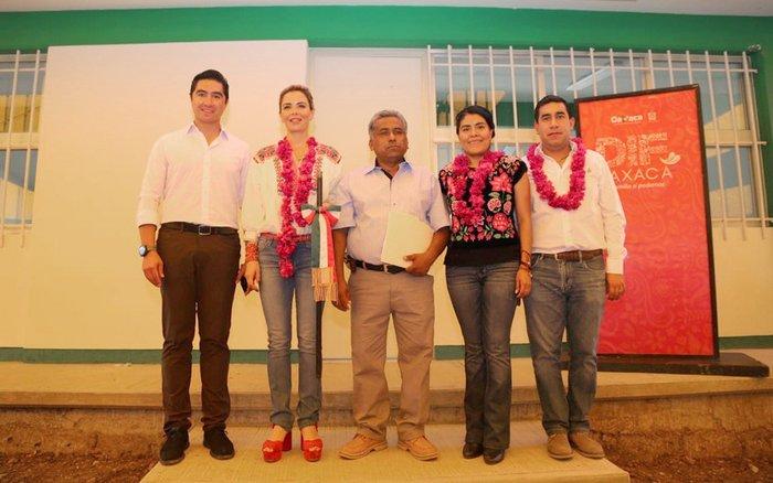 Ivette Morán reafirma su compromiso de trabajar en beneficio de las familias de San Bartolo Yautepec