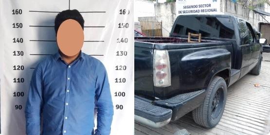 Cae 'pollero' en Oaxaca, trasladaba a 12 migrantes