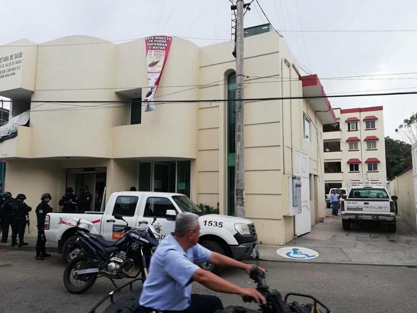 Asaltan la Jurisdicción en Tuxtepec, se llevan el dinero de los viáticos