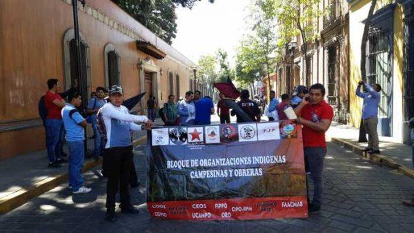 Organizaciones indigenas, campesinas y obreras, anuncian marcha para el 5 de marzo