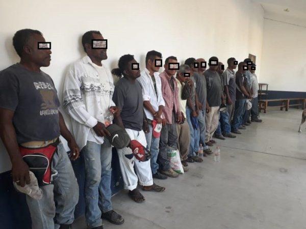 14 campesinos afro-mexicanos detenidos por ayudar a familia en cacería