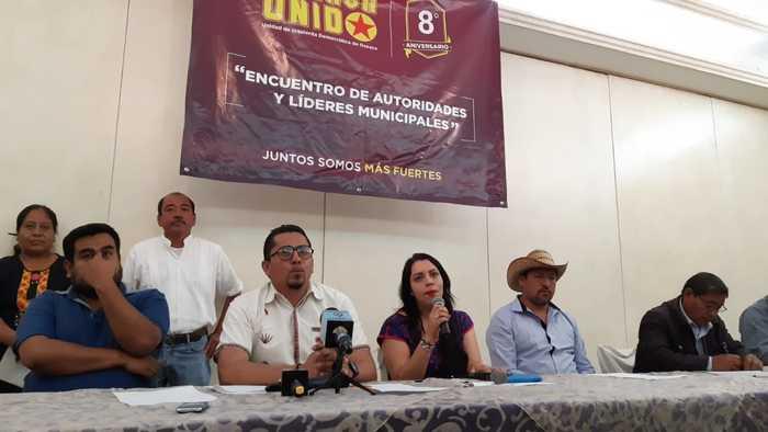 """""""Oaxaca Unido"""" anuncia el encuentro de autoridades y líderes municipales, en el marco de su octavo aniversario"""