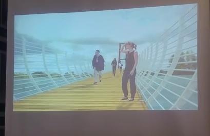 Cambiarán puente colgante de San Bartolo por uno más moderno